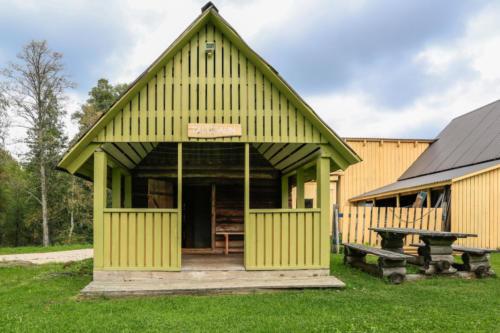 Sportland Kõrvemaa Matka- ja Suusakeskus saunamaja